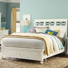Lynn Haven California King Sleigh Bed Complete