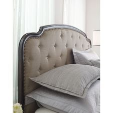 Grantham Upholstered King Panel Bed Complete