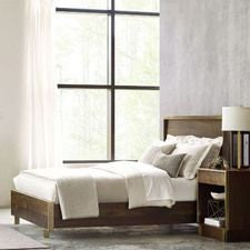 AD Modern Organics Luna Cal King Panel Bed 6/0 Complete
