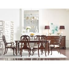 Oval Dining Table W/ 2 20