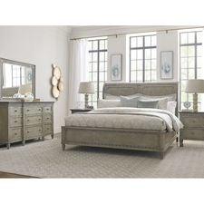 Savona King Anna Sleigh Bed 6/6 Complete