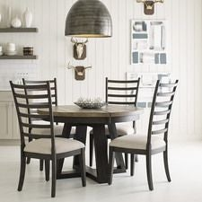 Plank Road Button Dining Table