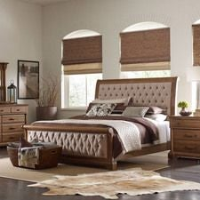 Stone Ridge Colussa King Bed - Complete