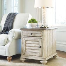 Weatherford Cornsilk Chairside Table