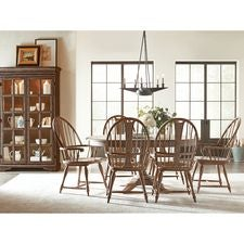 Weatherford Heather Milford Round Dining Table Package
