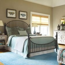 WEATHERFORD - HEATHER CATLINS QUEEN METAL BED - COMPLETE