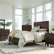 Montreat Borders King Panel Bed