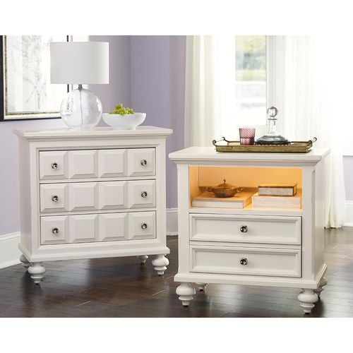 Lynn Haven Drawer Nightstand-Kd