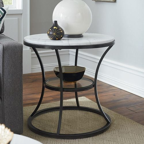 Impact Round End Table