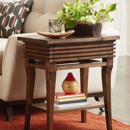 Groovy Charging Chairside Table
