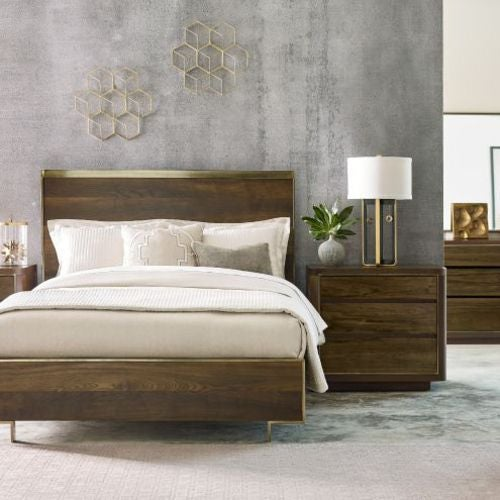 AD Modern Organics Luna King Panel Bed 6/6 Package