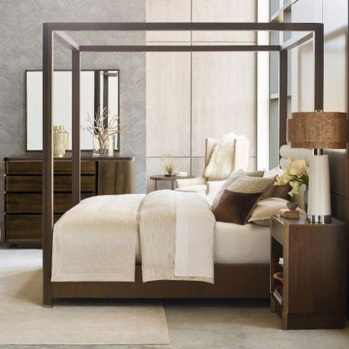 Freemont King Canopy Bed