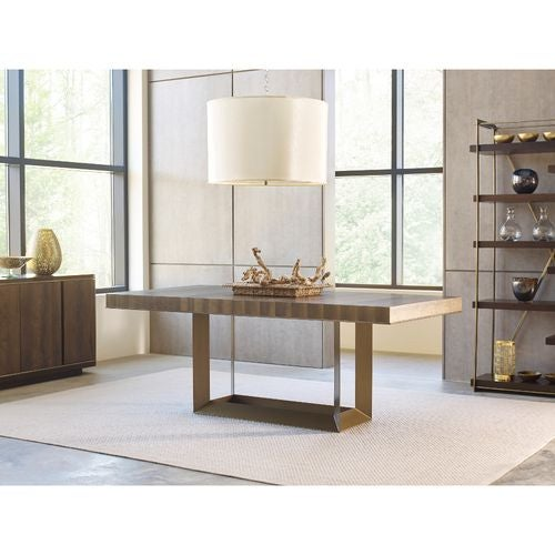 AD Modern Organics Bandon Rectangular Dining Table Complete