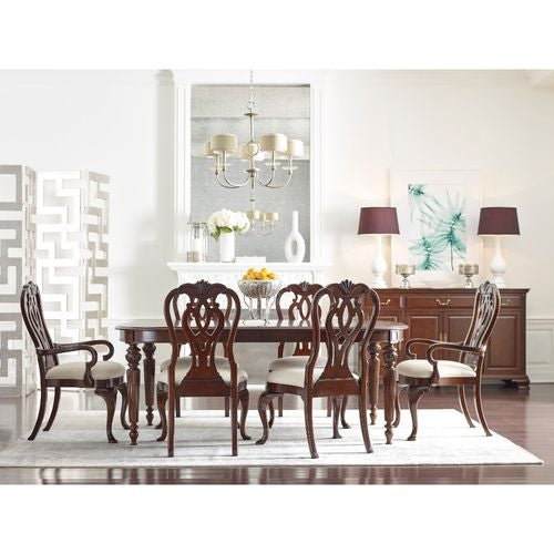 Hadleigh Oval Dining Table W/ 2 20