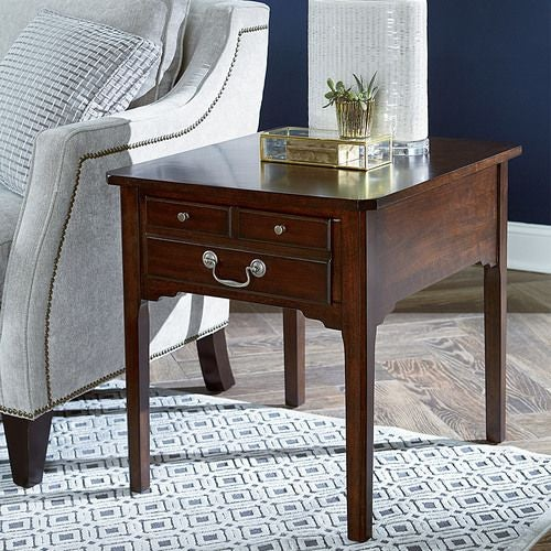 Arcadia Rectangular Drawer End Table