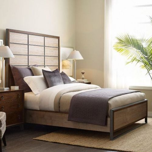 AD Modern Synergy Matrix Panel King Bed Package
