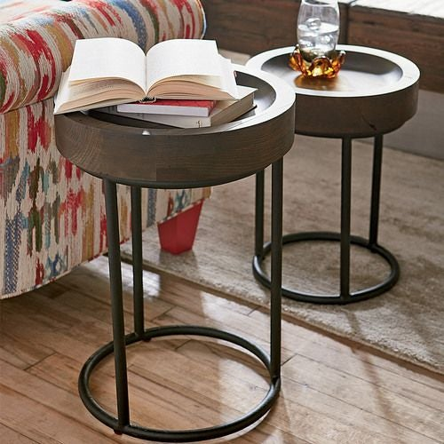 Junction Small & Large Timber Tray Table