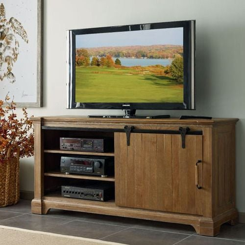 Stone Ridge Sliding Door Entertainment Console