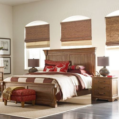 Stone Ridge Ardennes Panel Queen Bed - Complete