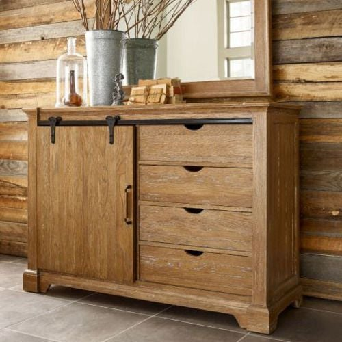 Stone Ridge Sliding Door Media Chest