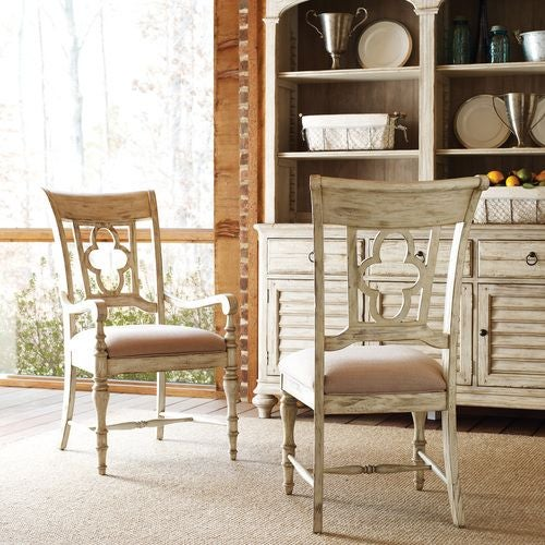 Weatherford Cornsilk Side Chair