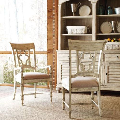 Weatherford Cornsilk Arm Chair
