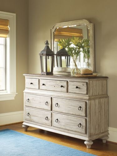 Weatherford Cornsilk Wellington Drawer Dresser