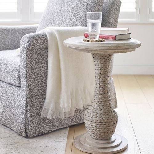 Vista Biscane Round End Table