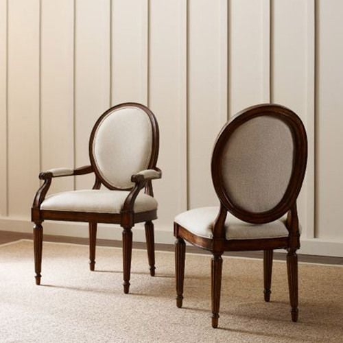 Artisans Shoppe Oval Back Side Chair Black Forest