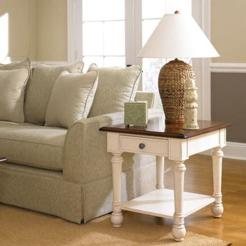 Promenade Rectangular Drawer End Table