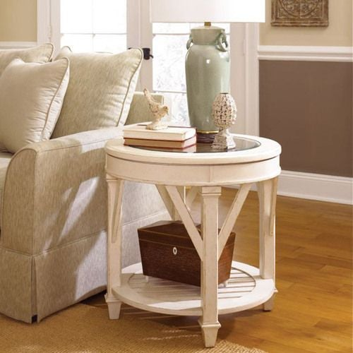 Promenade Round End Table